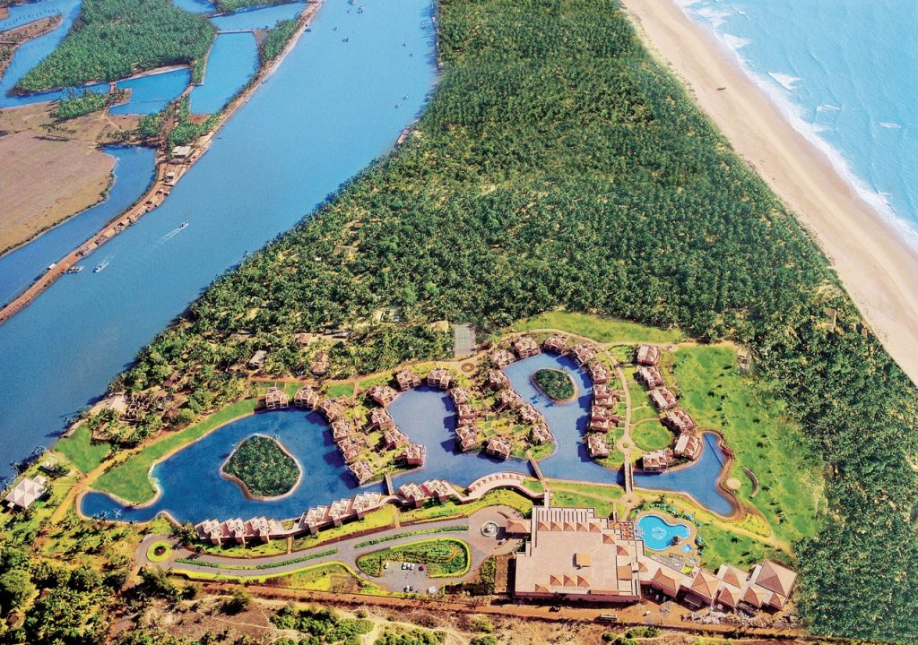 the-leela-goa-resort-and-spa-aerial-view